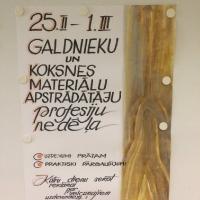 Profesijas nedēļa koka izstrādājumu izgatavošanā