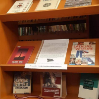 12.11.2020 Tehnikuma bibliotēkā Latvijai veltīta izstāde