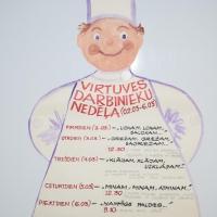 Virtuves darbinieku profesijas reklāmas nedēļa