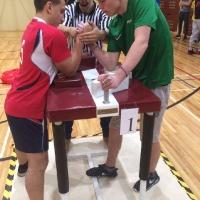 AMI SK 27. sporta spēļu sacensības roku cīņās jauniešiem