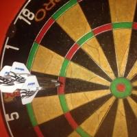 AMI SK 28. sporta spēļu sacensības šautriņu mešanā mērķī