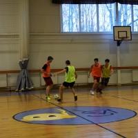 Finālsacensības telpu futbolā jauniešiem. 1. kārta