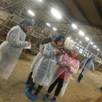 Mācību ekskursija nākamajiem lopkopības tehniķiem