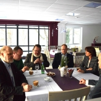 Stratēģiskas sarunas ar viesiem no Pleskavas apgabala